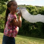 Frugal Family Fun: Homemade Bubble Maker (Day 7)