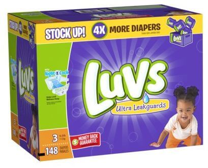 Target: Luvs Diapers Value Packs Only $12.75 (Reg. $25)