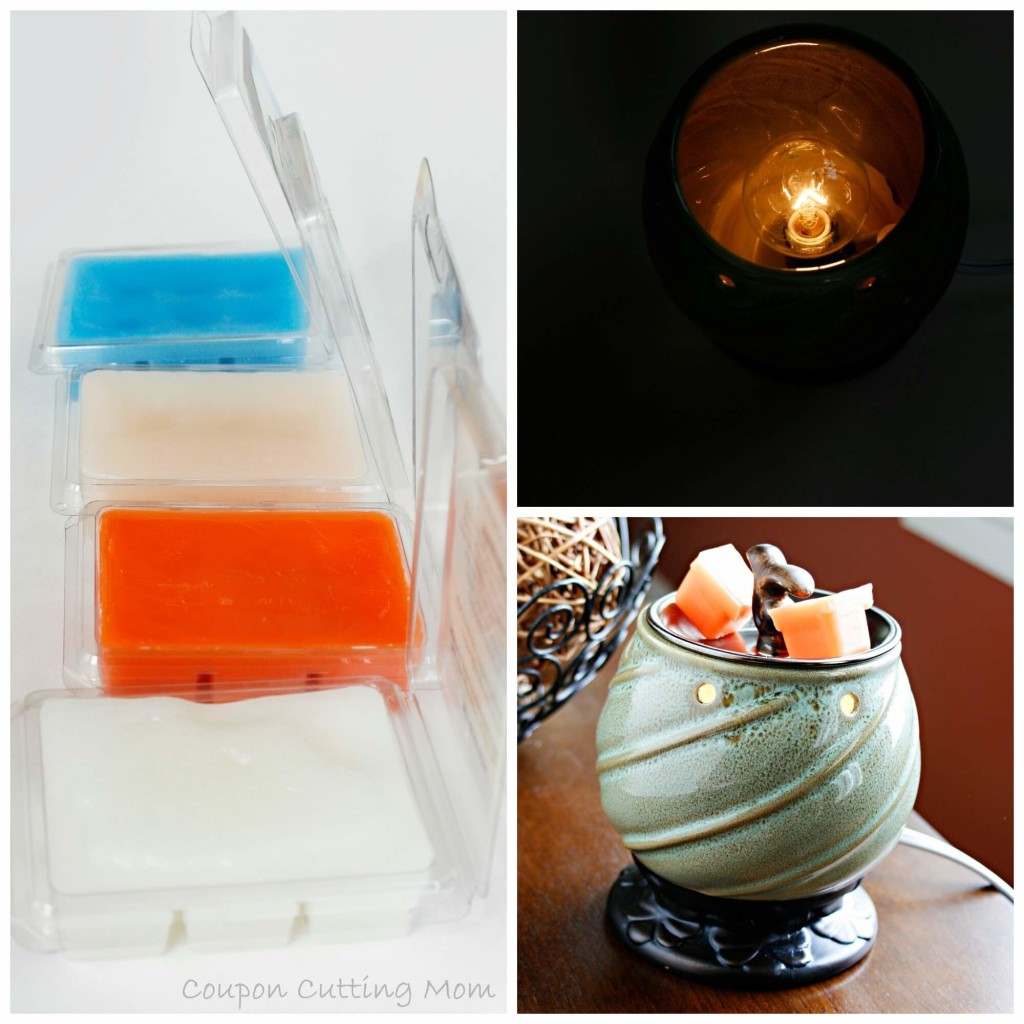 AmbiEscents Wax Warmer & Wax Cubes